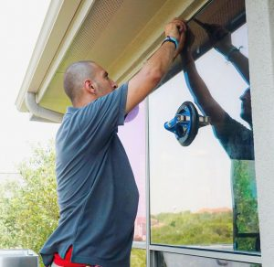 Window Glass Installation