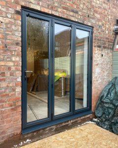 bifold door glass repair