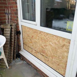Boardup - cover windows temporarily